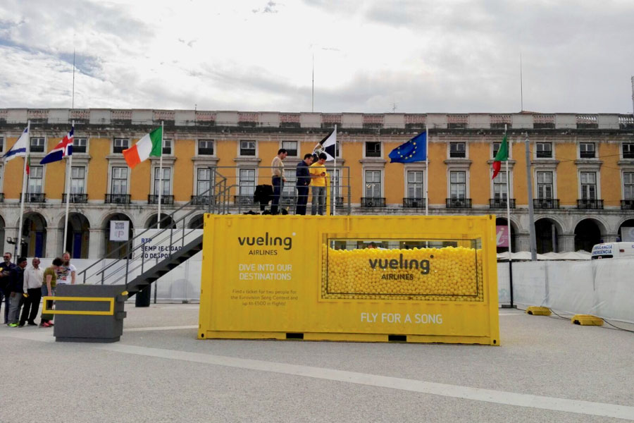 MyBOX Stand Vueling